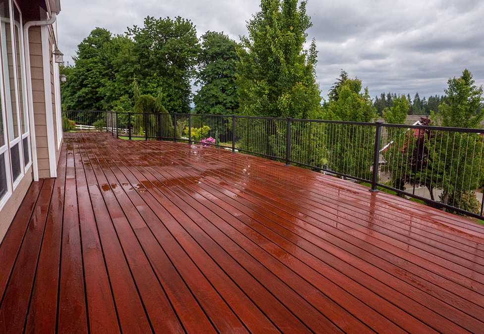Composite Decking Is Your Answer To Rainy Days
